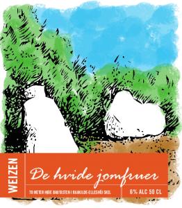 de_hvide_jomfruer-etiket